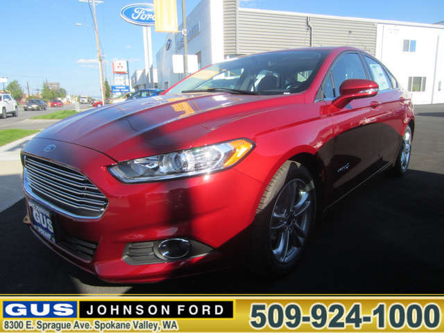 2015 Ford Fusion Hybrid in Spokane at Gus Johnson Ford