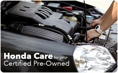 Honda Care - Certified Pre-Owned Honda