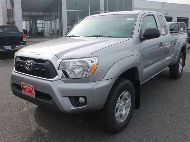2015 Toyota Tacoma in Burlington at Foothills Toyota