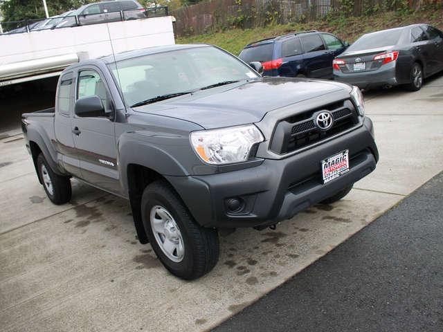Finance a 2015 Toyota Tacoma near Bellevue at Magic Toyota