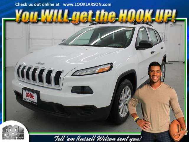 2015 Jeep Cherokee near Tacoma at Larson Chrysler Jeep Dodge Ram