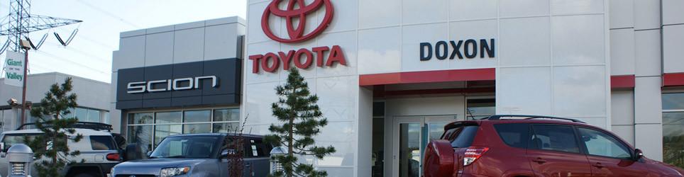 Doxon Toyota Dealership Community