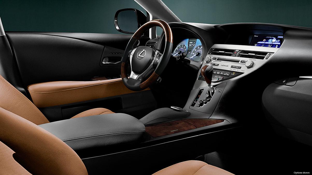 2015 Lexus RX interior