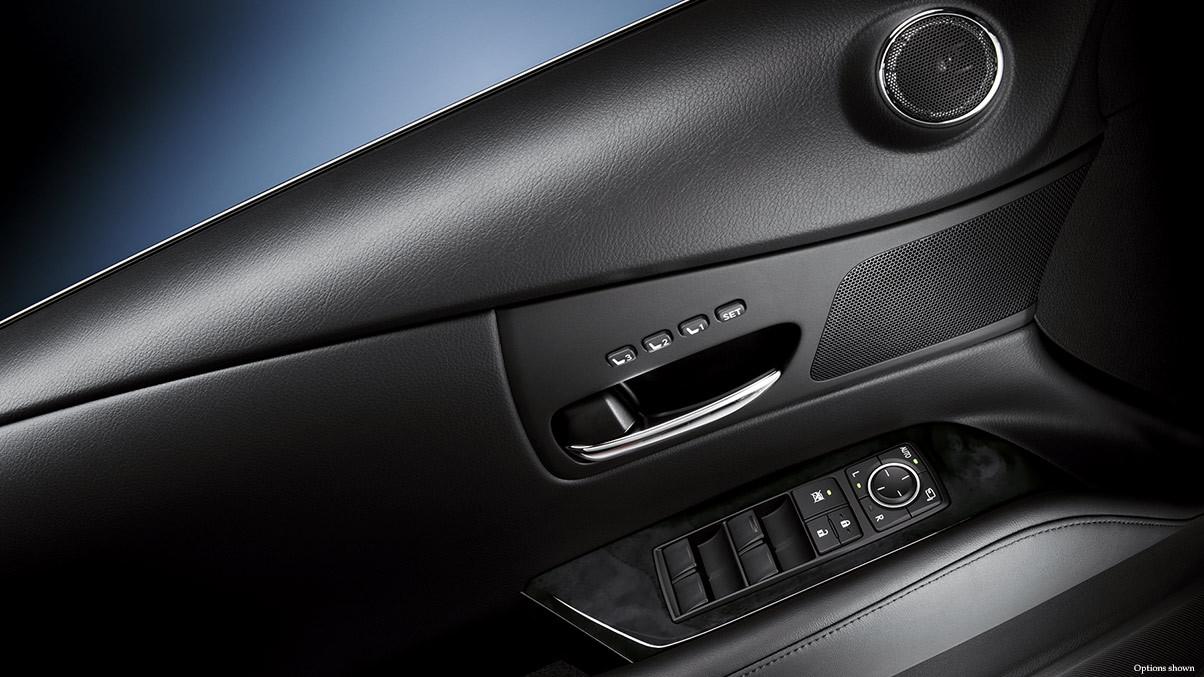 2015 Lexus RX interior memory settings