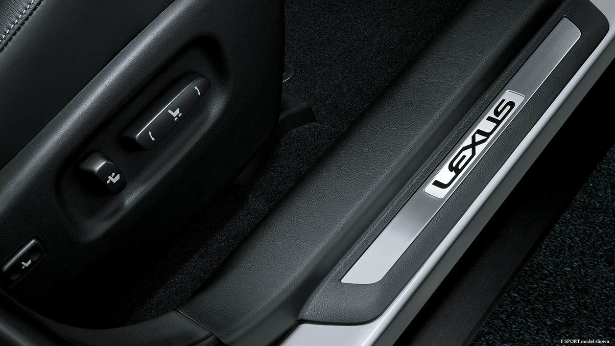 2015 Lexus RX door sill