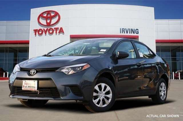 2015 Toyota Corolla for Sale in Irving, TX at Toyota of Irving