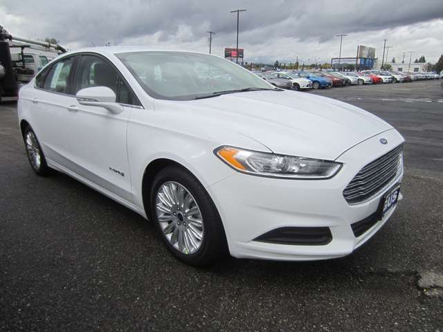2015 Ford Fusion Hybrid for Sale near Coeur d'Alene at Gus Johnson Ford