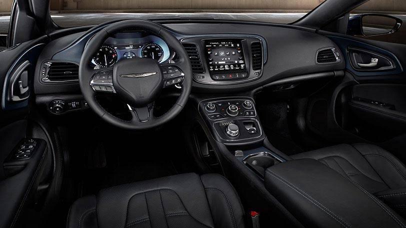 2015 Chrysler 200 interior cabin