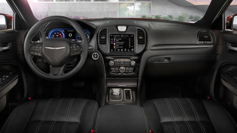2015 Chrysler 300 interior cabin seating audio steering wheel