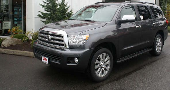 New 2015 Sequoia for Sale near Renton at Toyota of Tacoma