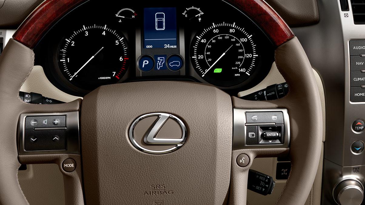 2015 Lexus GX Packages Near Fairfax Steering Wheel Instrumentation