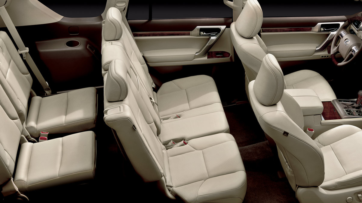2015 Lexus GX Trims In Chantilly Semi-Aniline Leather-Trimmed Seats