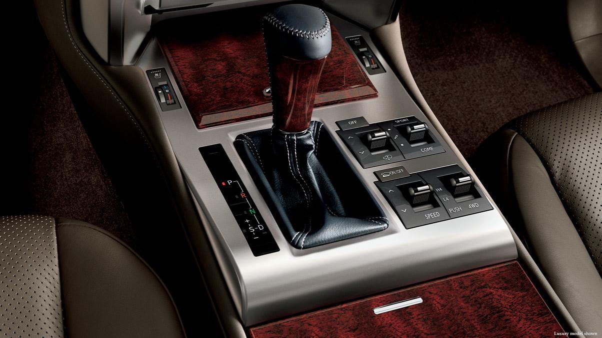 2015 Lexus GX Trims In Chantilly Mahogany Trim