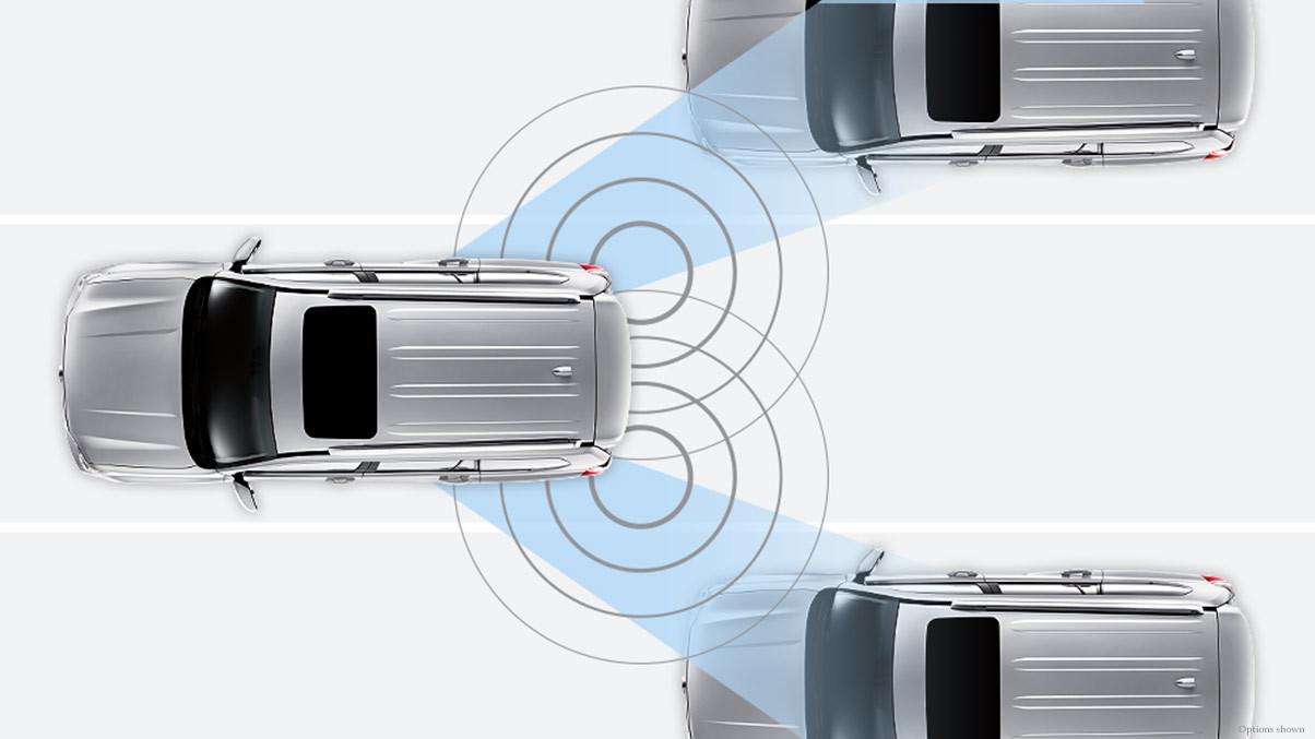 2015 Lexus GX Trims In Chantilly Blind Spot Monitor With Cross Traffic Alert