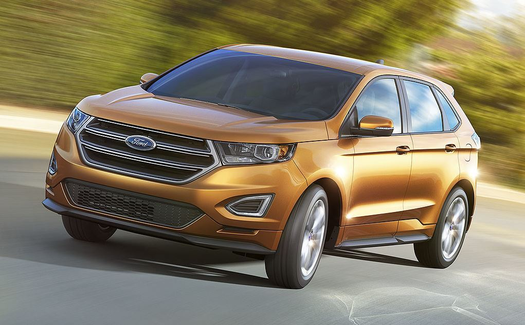 Features of the 2015 Ford Edge near Fruitland at Gentry Ford - Ontario