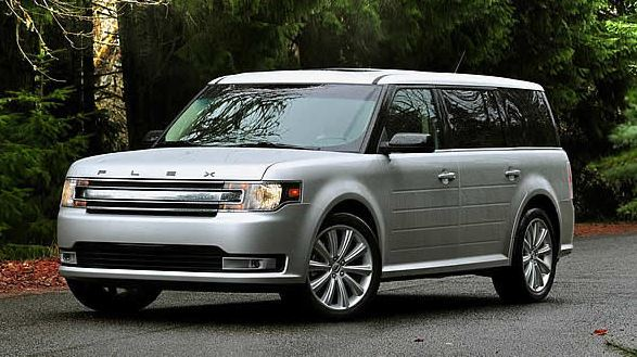 Features of the 2015 Ford Flex near Fruitland at Gentry Ford - Ontario