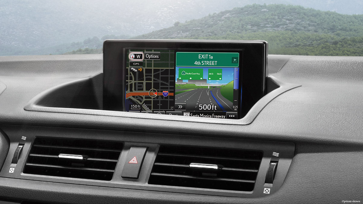 Navigation System in the CT Hybrid
