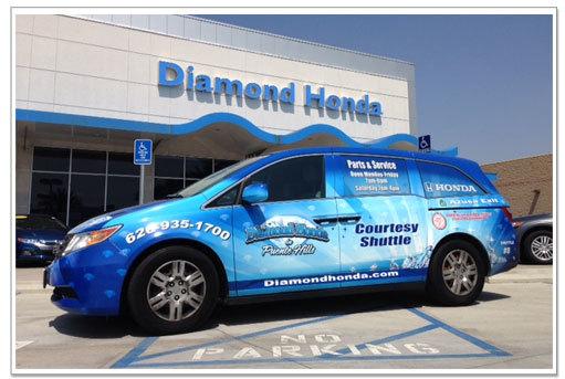 Honda Service In Los Angeles Diamond Honda Service Department