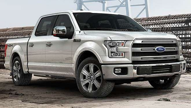 Features of the 2015 Ford F-150 near Fruitland at Gentry Ford - Ontario