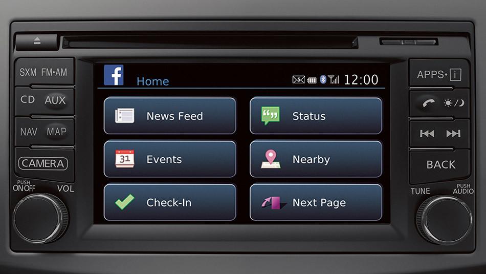 Facebook App Screen