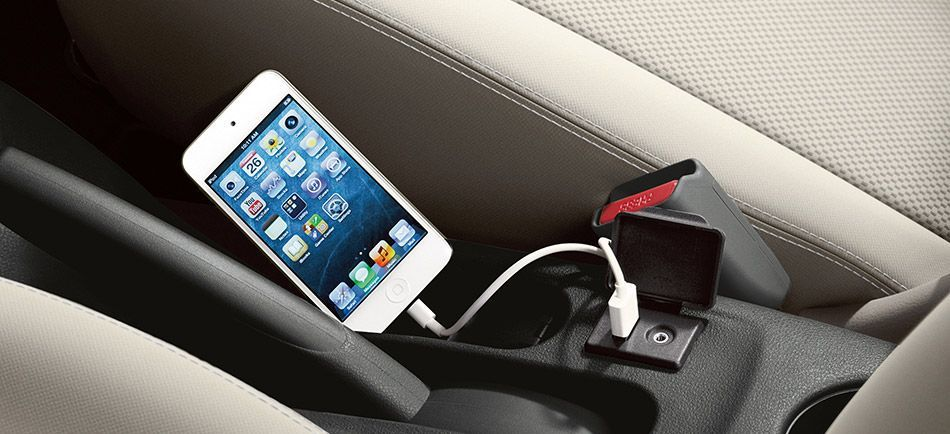 iPod USB Hookup