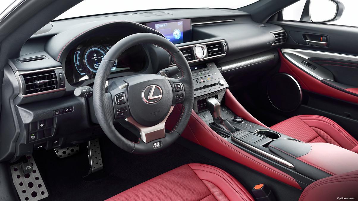 2015 Lexus RC Interior Cabin Comparison In Virginia