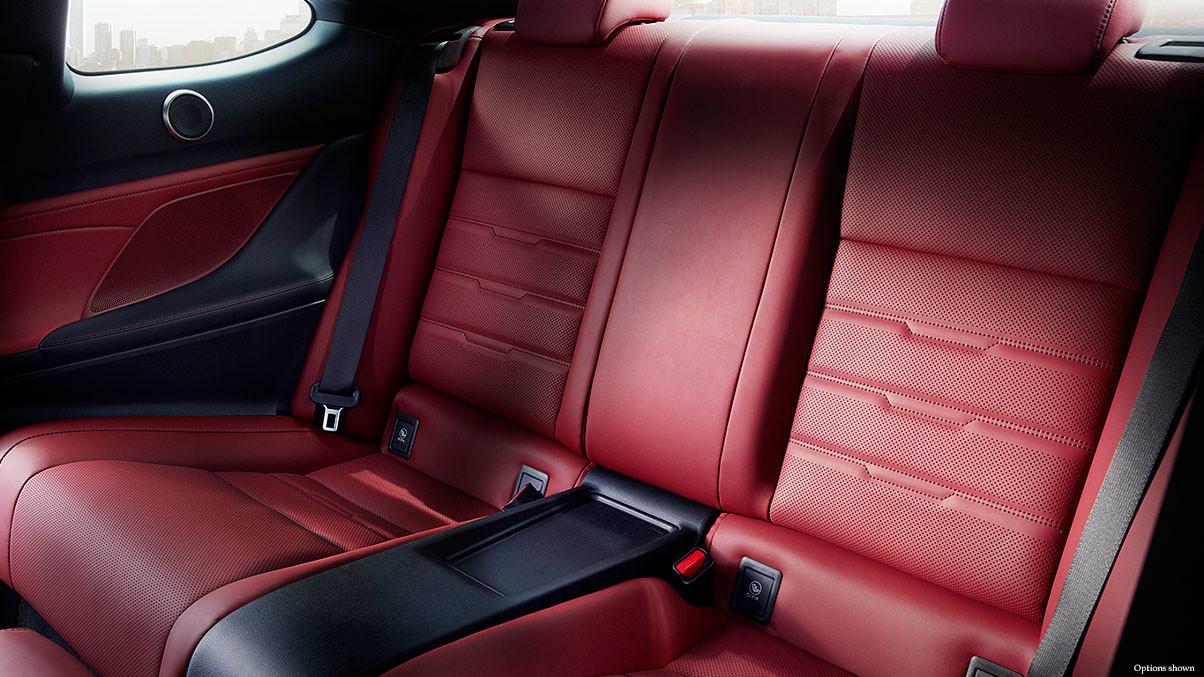 2015 Lexus RC Interior Backseat Near Reston, VA