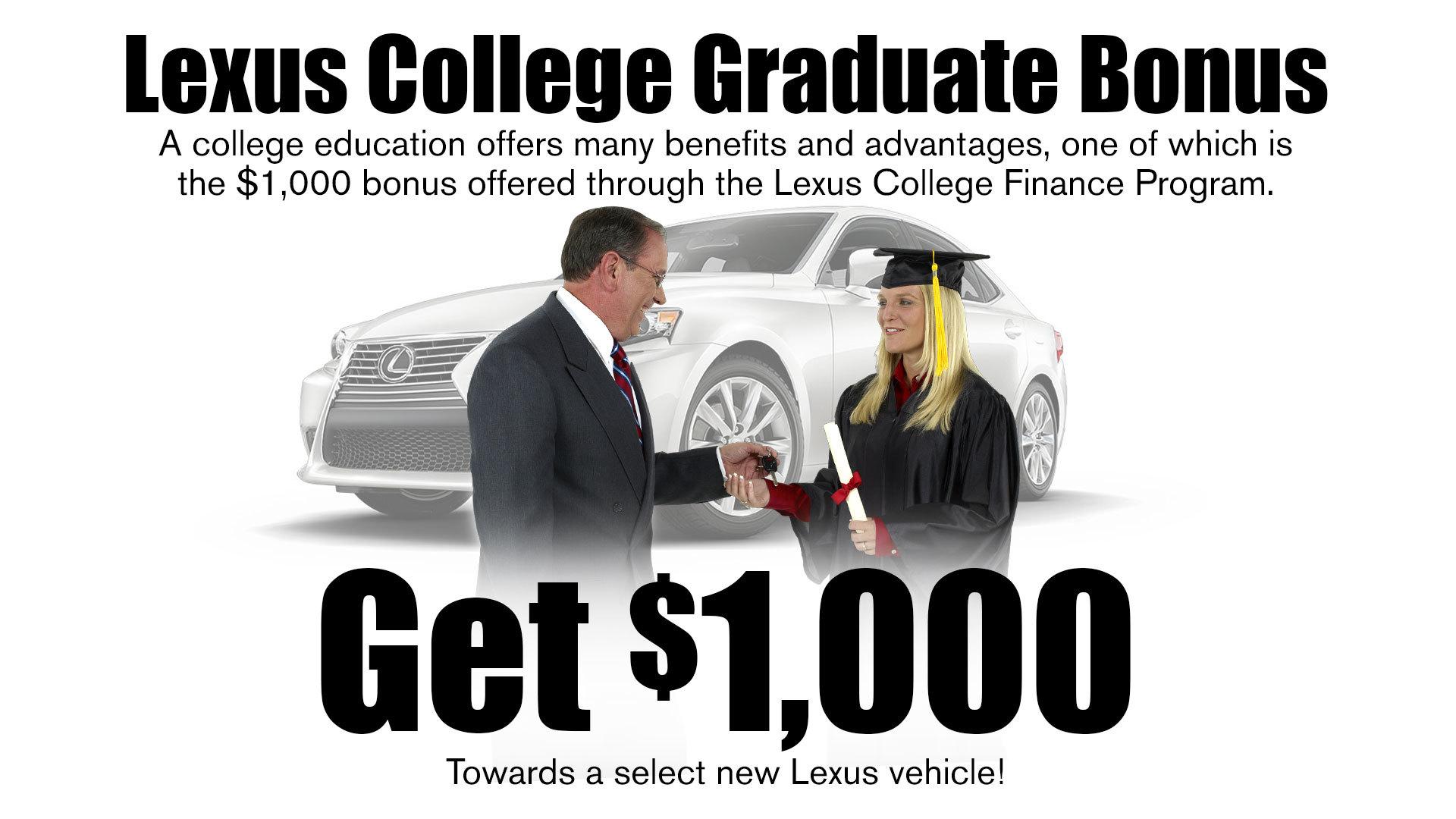Lexus Graduate Program Pohanka Lexus