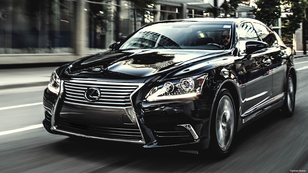 2015 Lexus LS Fairfax Comparison Exterior Front