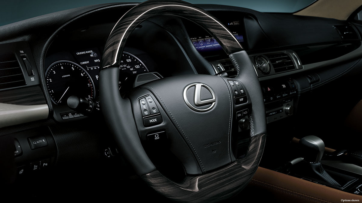 2015 Lexus LS Comparison Fairfax Interior Steering Wheel