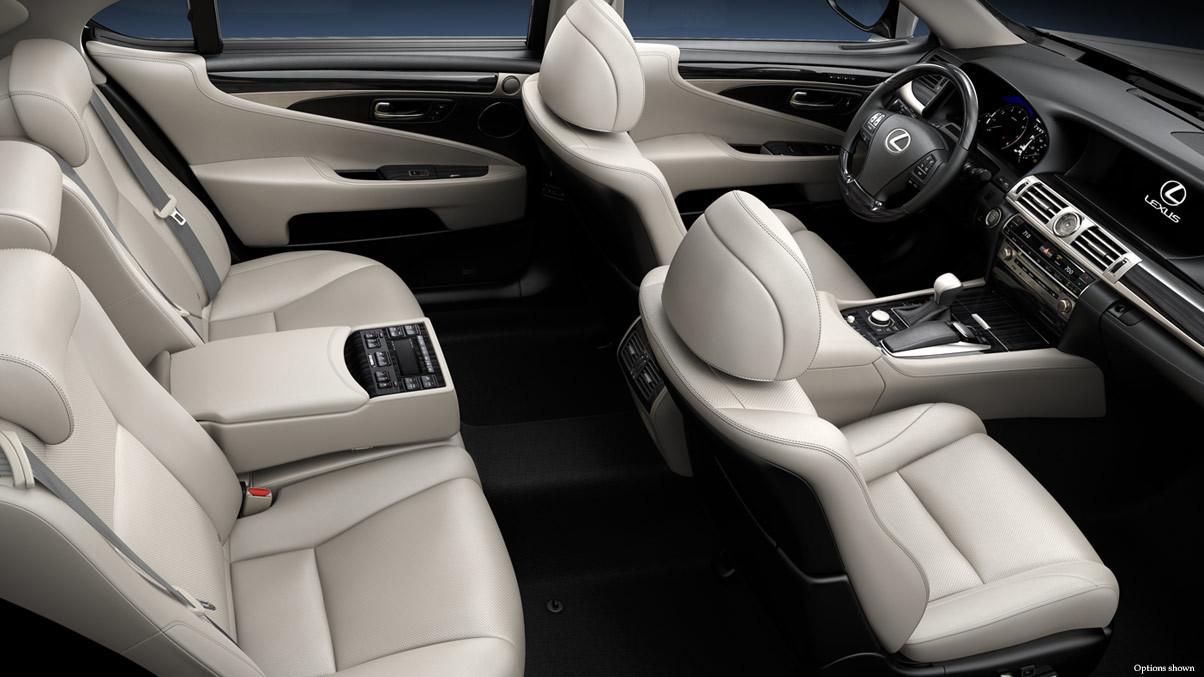 2015 Lexus LS 460 Trims Interior Cabin