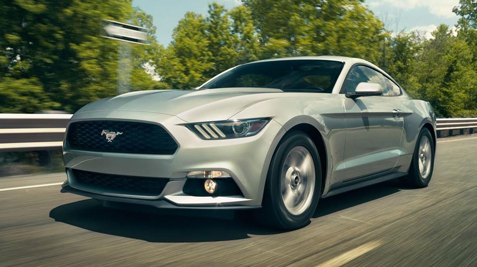 Features of the 2015 Ford Mustang near Fruitland at Gentry Ford - Ontario