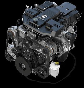 6.7L Cummins® Turbo Diesel I6 engine