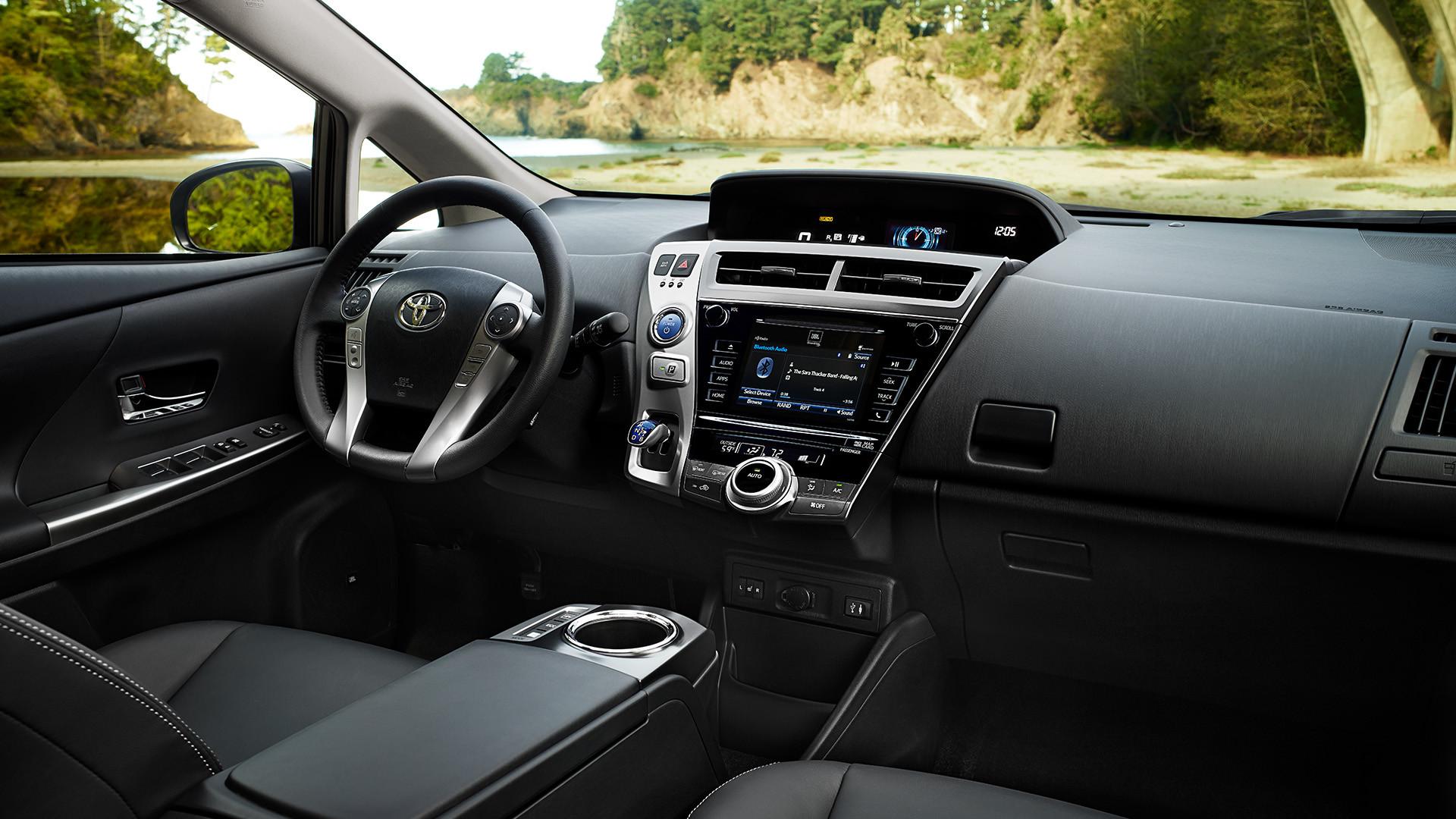 2015 Toyota Prius v Interior