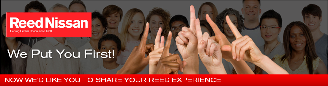Reed Nissan Experience Header