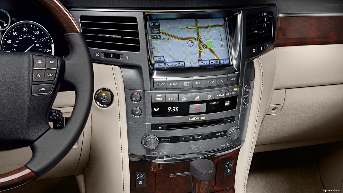 2015 Lexus LX Navigation System