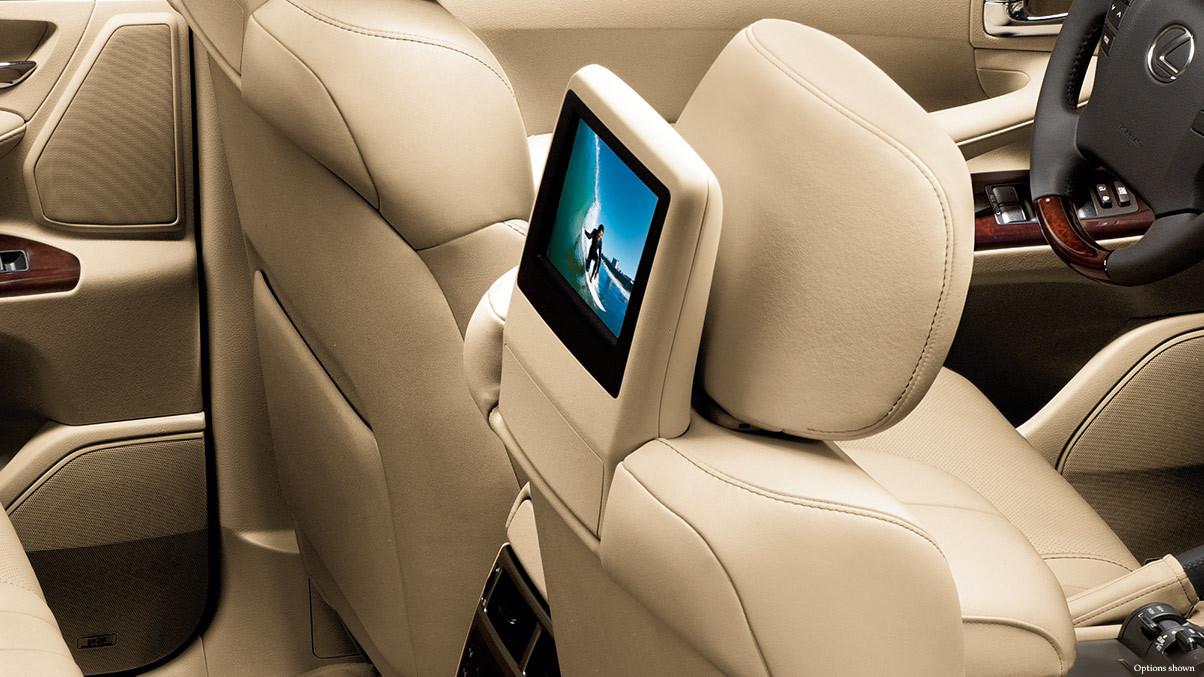 2015 Lexus LX DVD Entertainment System