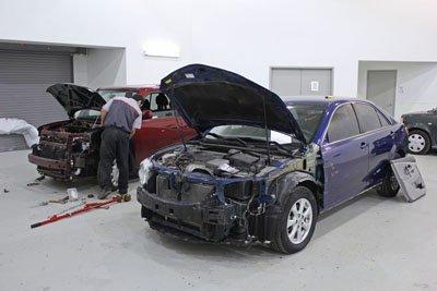 Crown Toyota Body Shop Tech