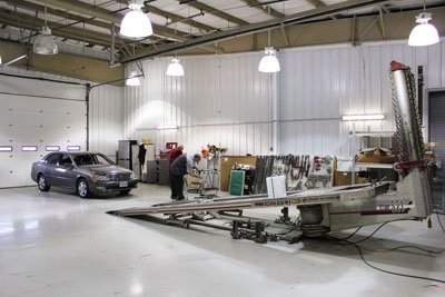Crown Toyota Lawrence Body Shop Glass Installation Center