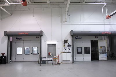 Crown Toyota Lawrence Body Shop Painting Booths