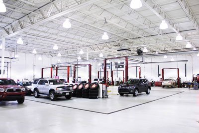 Crown Toyota Lawrence Indoor Service Department