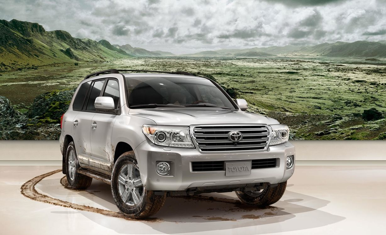 the miles go these suvs for rugged rides toyota are distance and trucks over