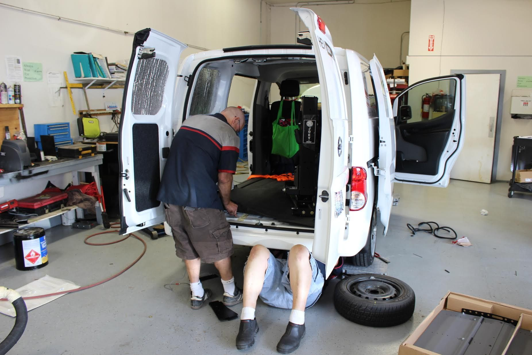 Wheelchair Van Service in Tacoma at Absolute Mobility Center