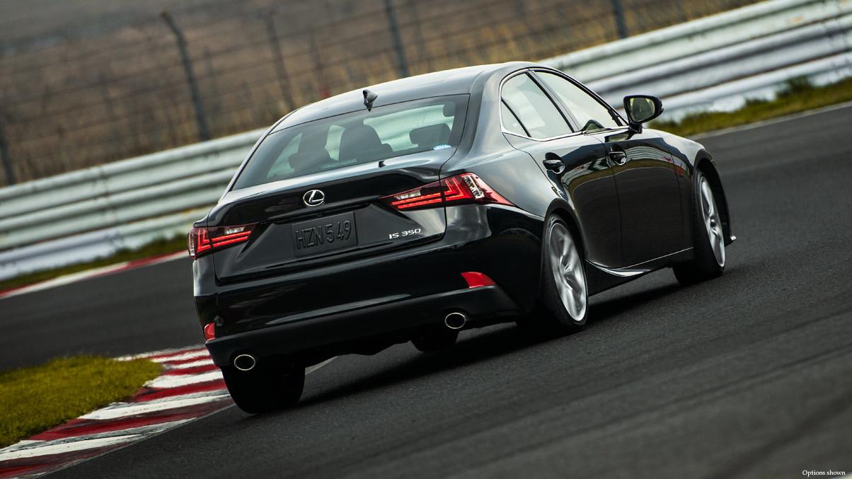 Rear Lexus IS
