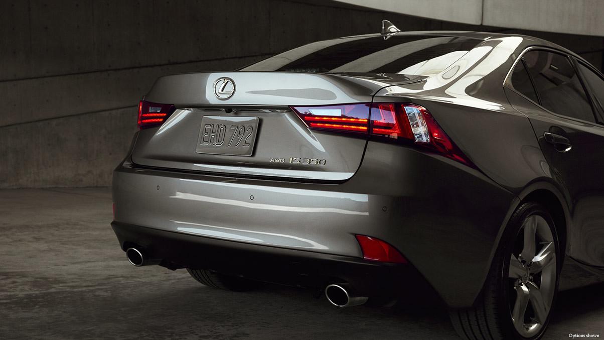 Rear 2016 Lexus IS