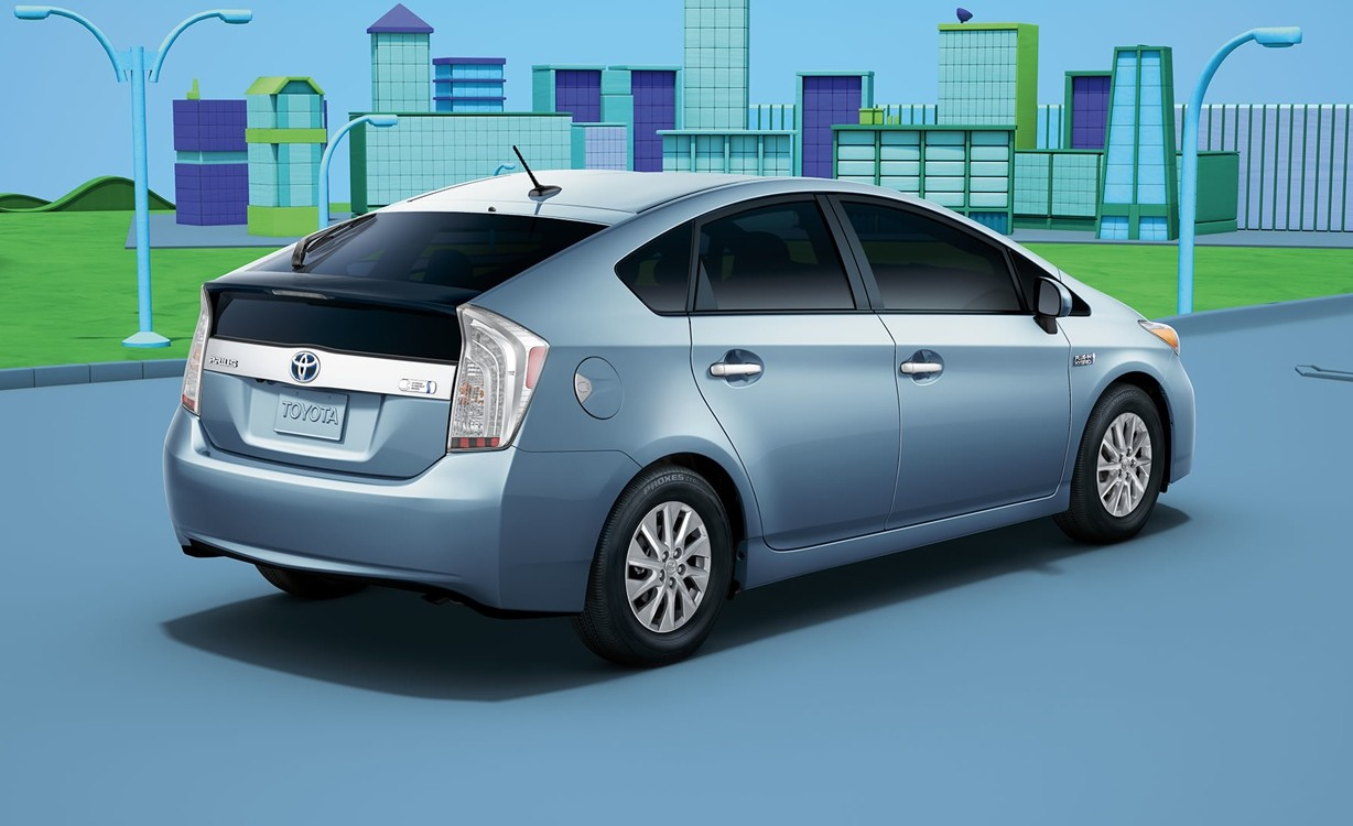 Trims of the 2015 Prius Plug-in near Bellevue at Magic Toyota