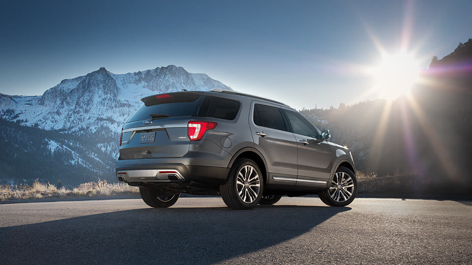 New 2016 Ford Explorer in Spokane at Gus Johnson Ford
