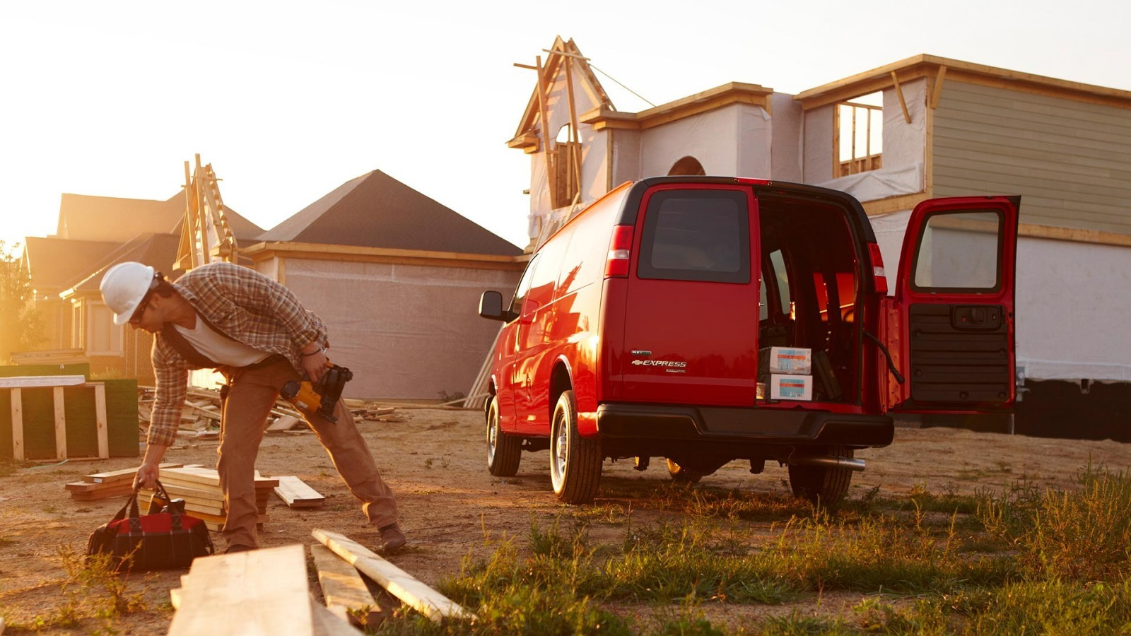 2016 Chevy Express near Seattle at Chuck Olson Chevrolet