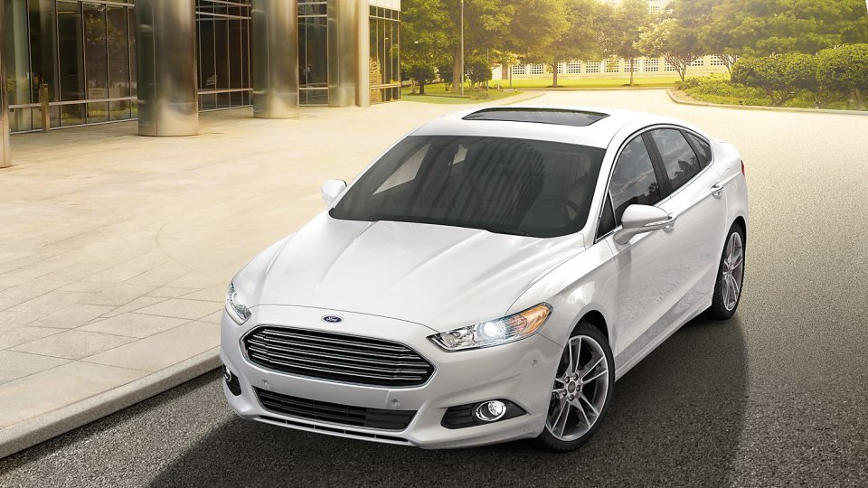 New 2016 Ford Fusion in Spokane at Gus Johnson Ford