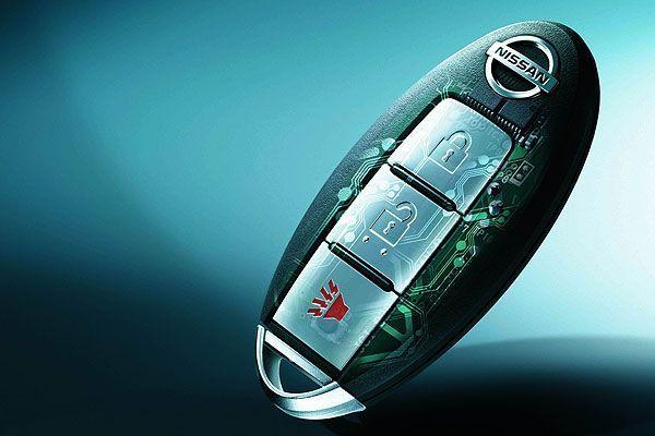 Nissan Intelligent Key Standard on 2016 Nissan Altima
